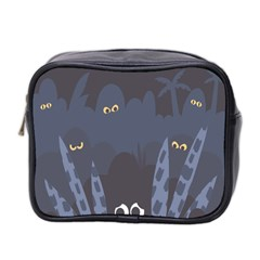 Ghost Halloween Eye Night Sinister Mini Toiletries Bag 2 Side