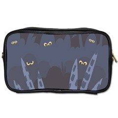Ghost Halloween Eye Night Sinister Toiletries Bags