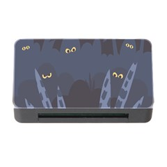Ghost Halloween Eye Night Sinister Memory Card Reader With Cf