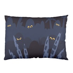 Ghost Halloween Eye Night Sinister Pillow Case (two Sides)