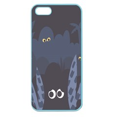Ghost Halloween Eye Night Sinister Apple Seamless Iphone 5 Case (color)