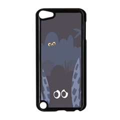 Ghost Halloween Eye Night Sinister Apple Ipod Touch 5 Case (black)