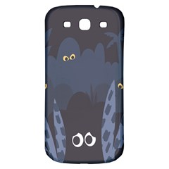 Ghost Halloween Eye Night Sinister Samsung Galaxy S3 S Iii Classic Hardshell Back Case