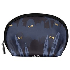 Ghost Halloween Eye Night Sinister Accessory Pouches (large)