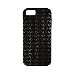 Gray Plaid Black Apple Iphone 5 Classic Hardshell Case (pc+silicone)
