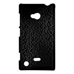 Gray Plaid Black Nokia Lumia 720