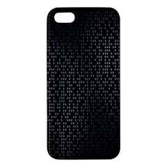 Gray Plaid Black Iphone 5s/ Se Premium Hardshell Case