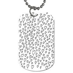 Heart Doddle Dog Tag (one Side)