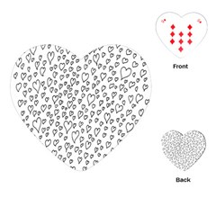 Heart Doddle Playing Cards (heart)
