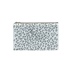 Heart Doddle Cosmetic Bag (small)