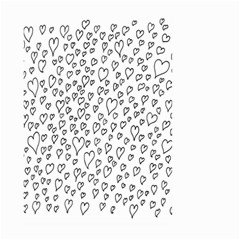 Heart Doddle Large Garden Flag (two Sides)