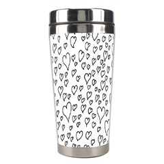 Heart Doddle Stainless Steel Travel Tumblers