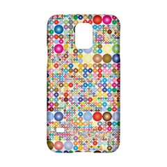 Circle Rainbow Polka Dots Samsung Galaxy S5 Hardshell Case