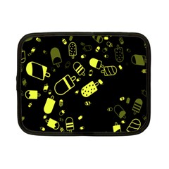 Ice Cream Cool Yellow Netbook Case (small)