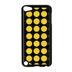 Circles1 Black Marble & Yellow Colored Pencil (r) Apple Ipod Touch 5 Case (black)