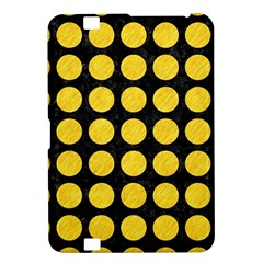 Circles1 Black Marble & Yellow Colored Pencil (r) Kindle Fire Hd 8 9