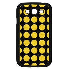 Circles1 Black Marble & Yellow Colored Pencil (r) Samsung Galaxy Grand Duos I9082 Case (black)