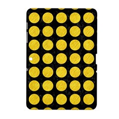 Circles1 Black Marble & Yellow Colored Pencil (r) Samsung Galaxy Tab 2 (10 1 ) P5100 Hardshell Case