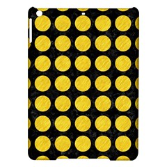 Circles1 Black Marble & Yellow Colored Pencil (r) Ipad Air Hardshell Cases