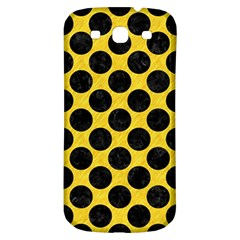 Circles2 Black Marble & Yellow Colored Pencil Samsung Galaxy S3 S Iii Classic Hardshell Back Case
