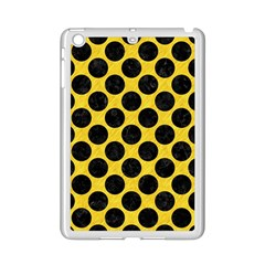 Circles2 Black Marble & Yellow Colored Pencil Ipad Mini 2 Enamel Coated Cases