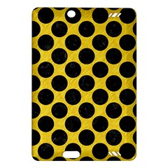 Circles2 Black Marble & Yellow Colored Pencil Amazon Kindle Fire Hd (2013) Hardshell Case