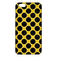 Circles2 Black Marble & Yellow Colored Pencil Iphone 6 Plus/6s Plus Tpu Case