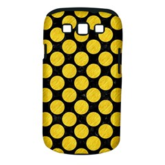 Circles2 Black Marble & Yellow Colored Pencil (r) Samsung Galaxy S Iii Classic Hardshell Case (pc+silicone)
