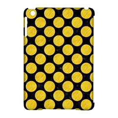 Circles2 Black Marble & Yellow Colored Pencil (r) Apple Ipad Mini Hardshell Case (compatible With Smart Cover)