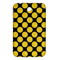 Circles2 Black Marble & Yellow Colored Pencil (r) Samsung Galaxy Tab 3 (7 ) P3200 Hardshell Case