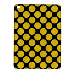Circles2 Black Marble & Yellow Colored Pencil (r) Ipad Air 2 Hardshell Cases