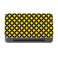 Circles3 Black Marble & Yellow Colored Pencil Memory Card Reader With Cf