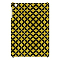 Circles3 Black Marble & Yellow Colored Pencil Apple Ipad Mini Hardshell Case