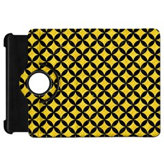 Circles3 Black Marble & Yellow Colored Pencil Kindle Fire Hd 7
