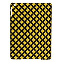 Circles3 Black Marble & Yellow Colored Pencil Ipad Air Hardshell Cases
