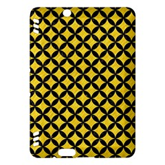 Circles3 Black Marble & Yellow Colored Pencil Kindle Fire Hdx Hardshell Case
