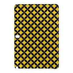 Circles3 Black Marble & Yellow Colored Pencil Samsung Galaxy Tab Pro 12 2 Hardshell Case