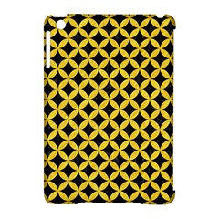 Circles3 Black Marble & Yellow Colored Pencil (r) Apple Ipad Mini Hardshell Case (compatible With Smart Cover)