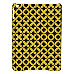 Circles3 Black Marble & Yellow Colored Pencil (r) Ipad Air Hardshell Cases