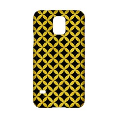 Circles3 Black Marble & Yellow Colored Pencil (r) Samsung Galaxy S5 Hardshell Case