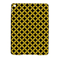Circles3 Black Marble & Yellow Colored Pencil (r) Ipad Air 2 Hardshell Cases