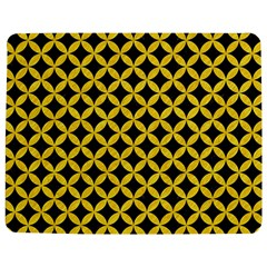 Circles3 Black Marble & Yellow Colored Pencil (r) Jigsaw Puzzle Photo Stand (rectangular)