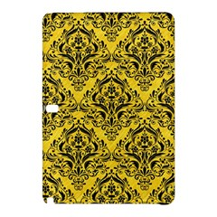 Damask1 Black Marble & Yellow Colored Pencil Samsung Galaxy Tab Pro 10 1 Hardshell Case