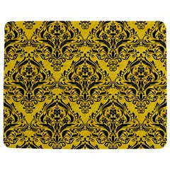 Damask1 Black Marble & Yellow Colored Pencil Jigsaw Puzzle Photo Stand (rectangular)