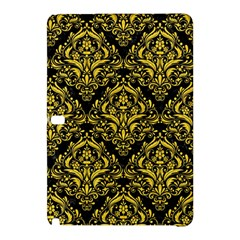 Damask1 Black Marble & Yellow Colored Pencil (r) Samsung Galaxy Tab Pro 10 1 Hardshell Case