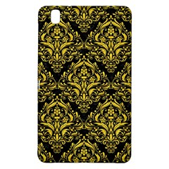 Damask1 Black Marble & Yellow Colored Pencil (r) Samsung Galaxy Tab Pro 8 4 Hardshell Case
