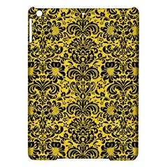 Damask2 Black Marble & Yellow Colored Pencil Ipad Air Hardshell Cases