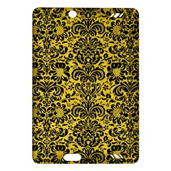 Damask2 Black Marble & Yellow Colored Pencil Amazon Kindle Fire Hd (2013) Hardshell Case