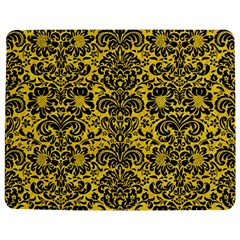 Damask2 Black Marble & Yellow Colored Pencil Jigsaw Puzzle Photo Stand (rectangular)