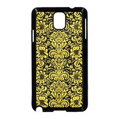 Damask2 Black Marble & Yellow Colored Pencil (r) Samsung Galaxy Note 3 Neo Hardshell Case (black)